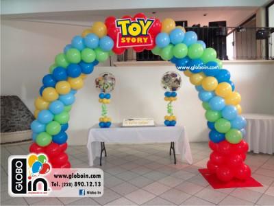 Arco de globos Toy Story