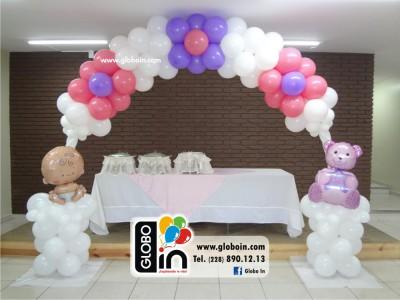 Arco de globos de Baby Shower