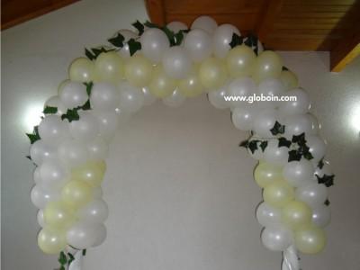 Arco de globos para Boda