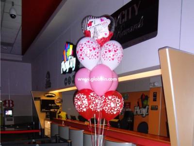 Bouquet de globos Amor