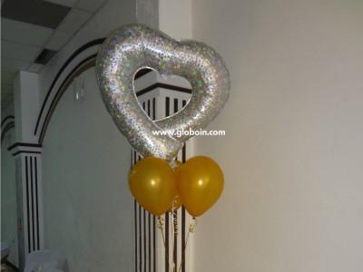 Bouquet de globos Boda