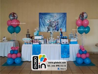 Bouquet de globos Frozen
