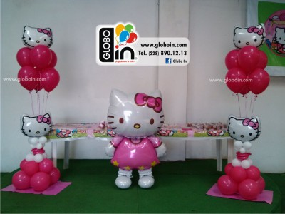 Bouquet de globos Kitty