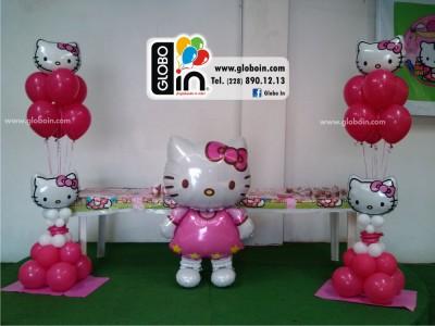 Bouquet de globos Kitty