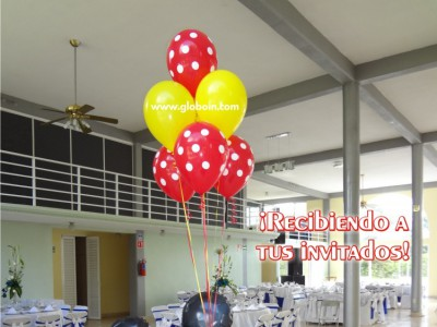 Bouquet de globos Mickey Mouse