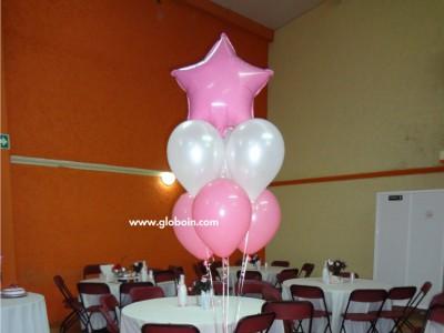 Bouquet de globos para XV Anios
