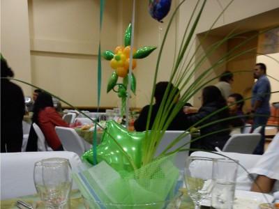 Centro de mesa Tinker Bell