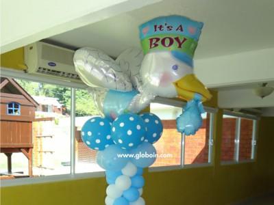 Columna de globos Baby Shower 2