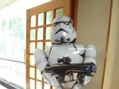 Globo caminante de Clone Troopers Star Wars