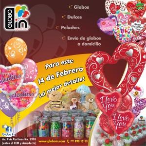 Globos San Valentin Xalapa