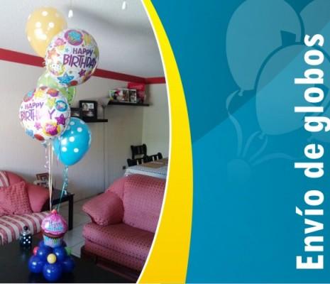 Envío de globos a domicilio