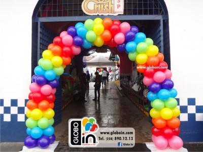 Arco de globos Candy Crush