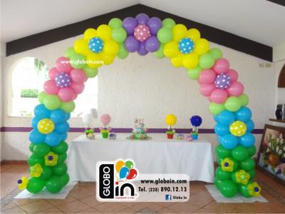 Arco de globos Lalaloopsy