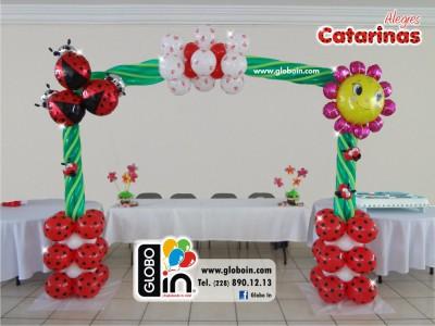 Arco de globos catarinas