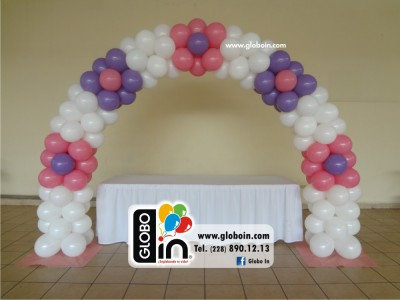 Arco de globos de Flores