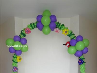 Arco de globos de Tinker Bell