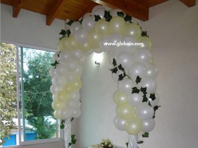 Arco de globos para Boda 2