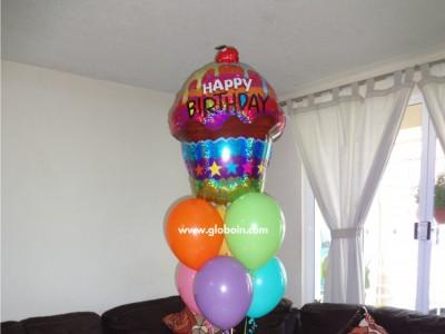 Bouquet de globos Cumpleanos 2