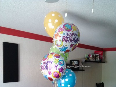 Bouquet de globos Cumpleanos