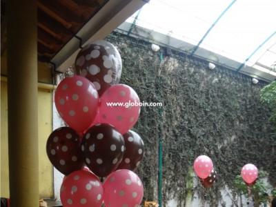 Bouquet de globos Globos de Puntos