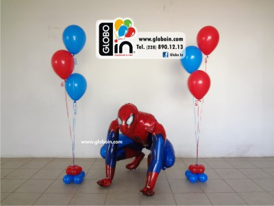 Bouquet de globos Spiderman