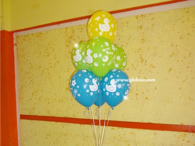 Bouquet de globos de Baby Shower