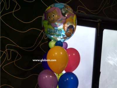Bouquet de globos de Bublee Guppies