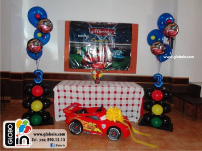 Bouquet de globos de Cars