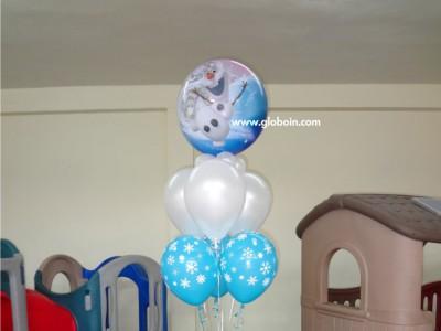 Bouquet de globos de Frozen 2