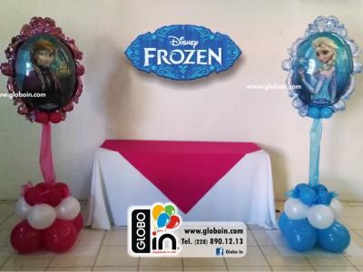 Bouquet de globos de Frozen