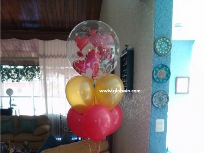 Bouquet de globos de aniversario