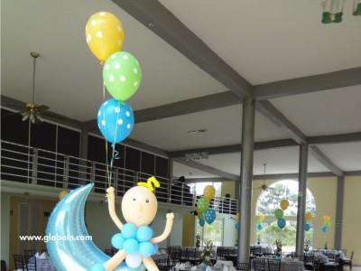 Columna de globos Baby Shower Nino
