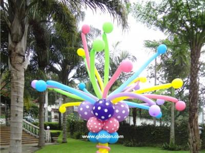 Columna de globos Lalaloopsy