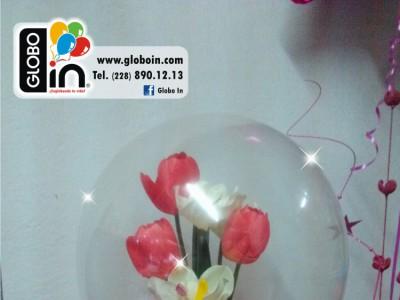 Englobado de flores