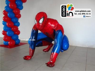 Globo caminante de Spiderman