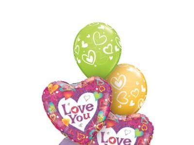 Globos de amor 2