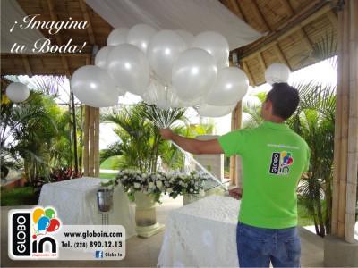 Imagina tu boda con globos